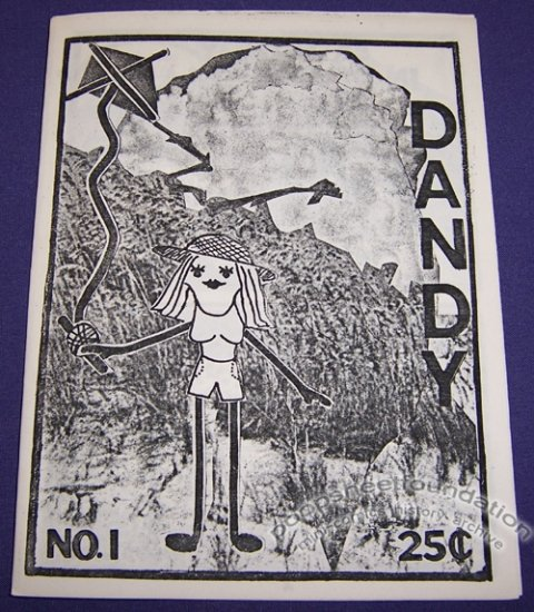 DANDY #1 mini-comic KATHY MAYER 1986