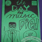 THE DAY THE MUSIC DIED mini-comic MATTHEW GUEST Bill Fitts MIKE KENNEDY DFF 1989