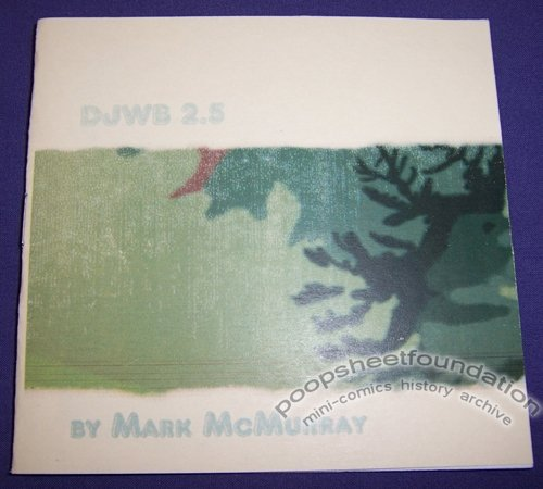 DUMB JERSEY WHITE BOY #2.5 mini-comic MARK McMURRAY full-color 2005