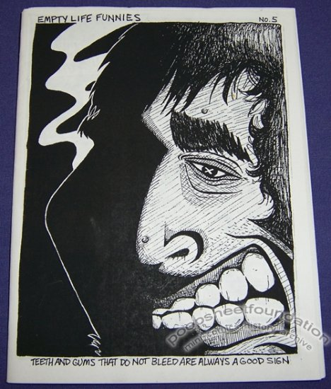 EMPTY LIFE FUNNIES #5 mini-comix MIKE TOLENTO 1996