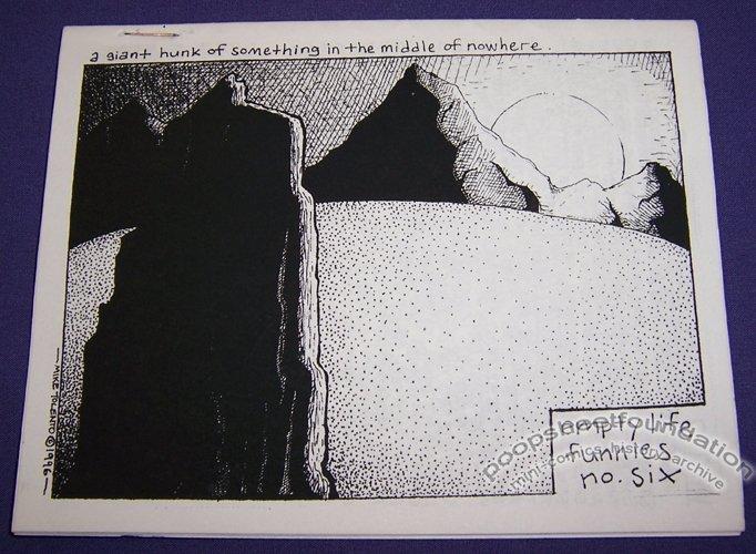 EMPTY LIFE FUNNIES #6 mini-comix MIKE TOLENTO 1996