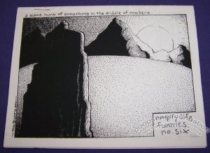 EMPTY LIFE FUNNIES #6 mini-comix MIKE TOLENTO 1996