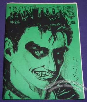 FAN'TOONS #24 mini-comic zine JEFF GAITHER Matt Feazell TARAL WAYNE 1988