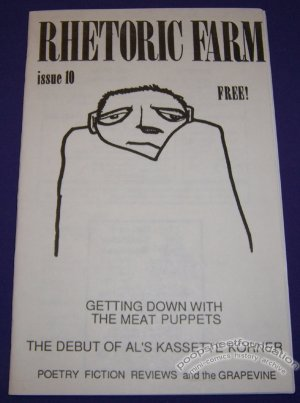 RHETORIC FARM #10 comix zine ROY TOMPKINS Meat Puppets 1987