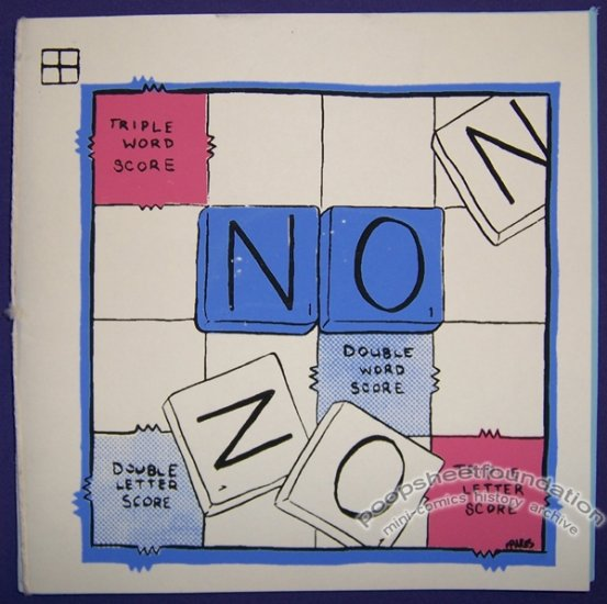 NO mini-comics anthology JON CHAD Colleen Frakes 2008