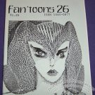 FAN&#39;TOONS #26 mini-comic zine BRAD FOSTER Taral Wayne MATT FEAZELL Paul Weinman 1988