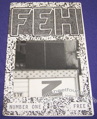 FEH #1 mini-comic MARK D JANICKO comix 1987 ed of 50