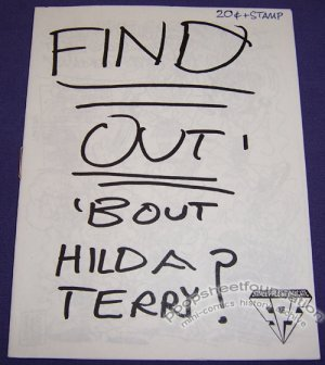 FIND OUT 'BOUT HILDA TERRY mini-comic TIM KELLY 1994