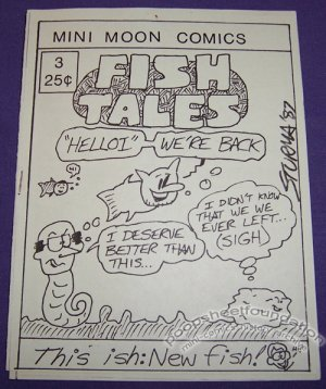 FISH TALES #3 mini-comic ROB STURMA 1987
