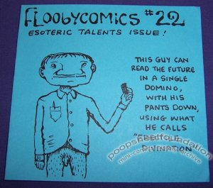 FLOOBYCOMICS #22 mini-comix CHAD WOODY