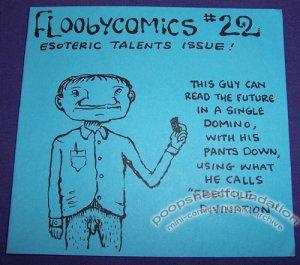 FLOOBYCOMICS #22 mini-comix CHAD WOODY