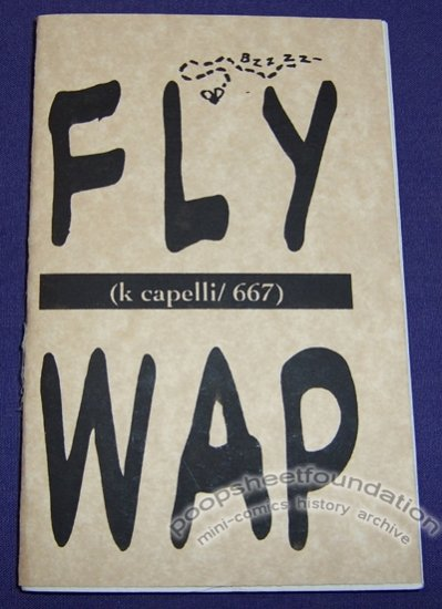 FLY WAP wordless comic K CAPELLI Puppy Toss 1993