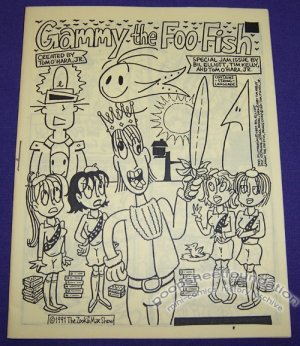 GAMMY THE FOO FISH mini-comic TIM KELLY 1991