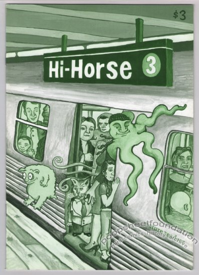 HI-HORSE #3 alternative comic ANDRICE ARP Howard John Arey JOAN REILLY 2002