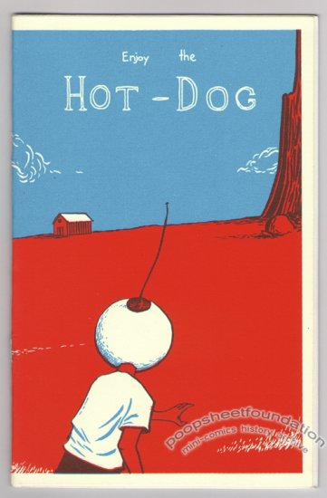 ENJOY THE HOT-DOG mini-comic LEVON JIHANIAN 24-hour comic 2002
