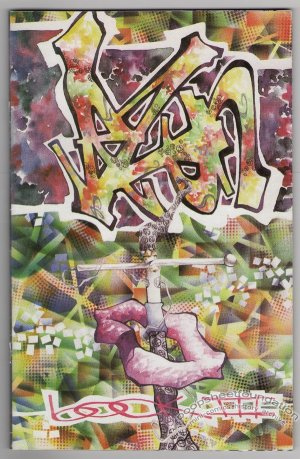 VEZUN Book 3 hip hop graffiti art book 1997