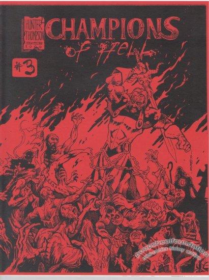 CHAMPIONS OF HELL #3 mini-comic IRA HUNTER Robin Thompson 1999