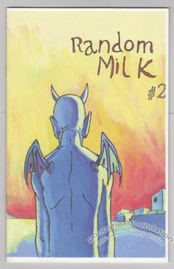 RANDOM MILK #2 mini-comic MARTIN CENDREDA Dan Clowes Chris Ware 2000