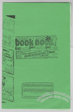 BOOK NOOK underground comix ROGER MAY San Francisco 1975