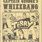 CAPTAIN GEORGE&#39;S WHIZZBANG #11 Canadian comics fanzine 1971