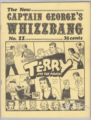 CAPTAIN GEORGE'S WHIZZBANG #11 Canadian comics fanzine 1971