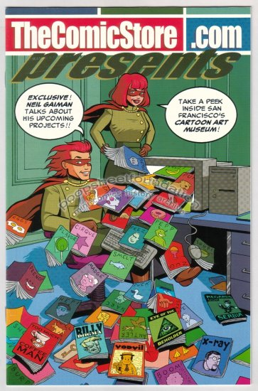 THECOMICSTORE comix JORDAN CRANE Neil Gaiman PETER KUPER Shannon Wheeler 1999