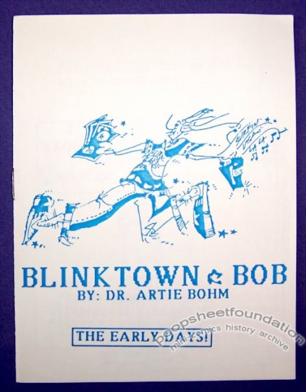 BLINKTOWN BOB #4 mini-comic ARTIE BOHM minicomic 1988