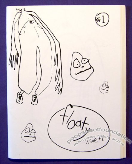 FLOATY #1 mini-comic KEITH SAUNDERS minicomic 1996
