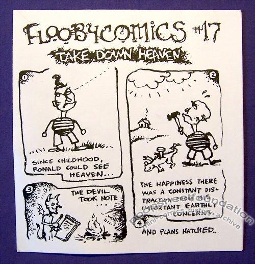 FLOOBYCOMICS #17 mini-comic CHAD WOODY minicomic