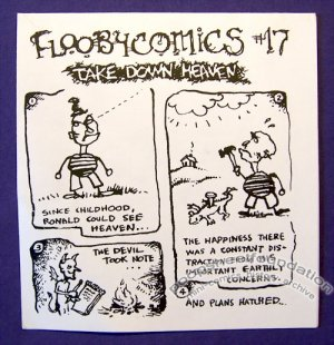 FLOOBYCOMICS #17 mini-comic CHAD WOODY minicomic