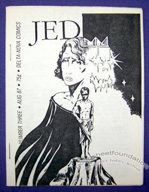 JED #3 mini-comic MATT BROERSMA Tony Gonzales TOMMY PONS 1987