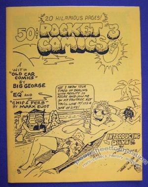 POCKET COMICS #3 mini-comic VICTOR GATES George Stasinos 1988