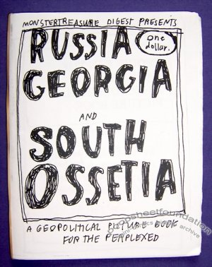 RUSSIA GEORGIA AND SOUTH OSSETIA mini-comic MARIA SPUTNIK 2008