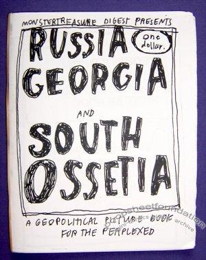 RUSSIA GEORGIA AND SOUTH OSSETIA mini-comic MARIA SPUTNIK 2008