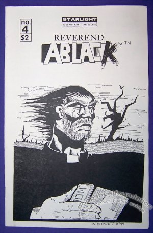 REVEREND ABLACK #4 mini-comic CHRIS ERWIN small press 1994