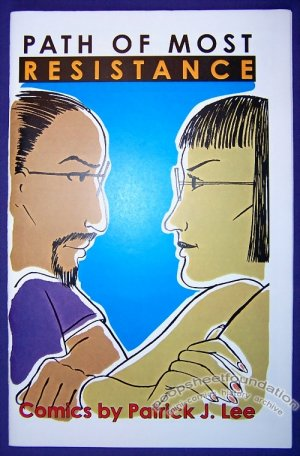 TIME'S UP #8 mini-comic PATRICK LEE minicomic 1999