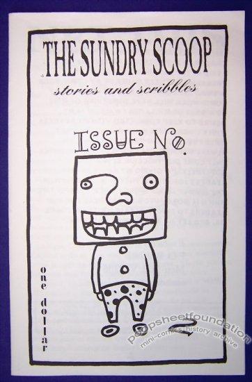 THE SUNDRY SCOOP #2 mini-comic T. WEIER minicomic 1997