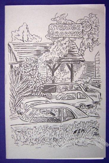 STRANGE GROWTHS #10 mini-comic JENNY ZERVAKIS 1990s