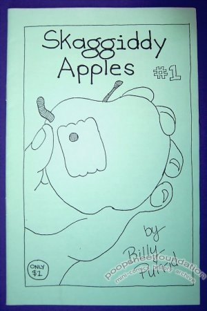 SKAGGIDY APPLES #1 mini-comic BILLY PUTRID 1990s