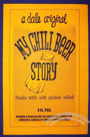 MY CHILI BEER STORY mini-comic DALE MARTIN minicomic 1995