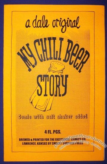 MY CHILI BEER STORY mini-comic DALE MARTIN minicomic 1995