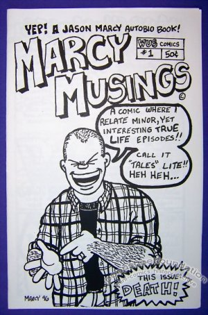 MARCY MUSINGS #1 Canadian mini-comic JAY MARCY minicomic 1996