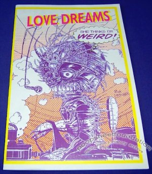 LOVE DREAMS #3 Canadian mini-comic RICK LIMACHER David Butterfield 1997