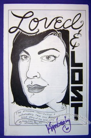 LOVED & LOST mini-comic KIMBERLY BRAYTON autobio RANDY CRIDER 2001