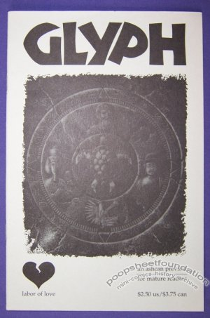 GLYPH mini-comic PIA GUERRA David Lee Ingersoll SHEPHERD HENDRIX 1995