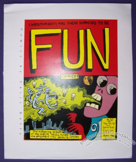 FUN COMICS mini-comic CHRIS DUFFY full-color minicomic