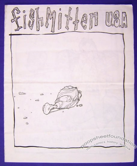FISHMITTEN USA mini-comic T.S. ROOT minicomic