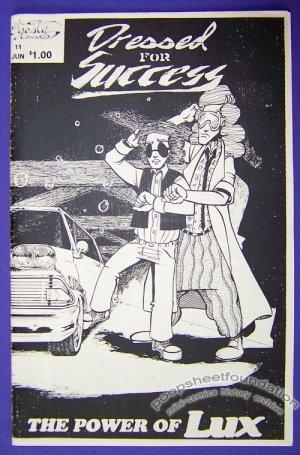 DRESSED FOR SUCCESS #11 Canadian mini-comic action humor parody 1993