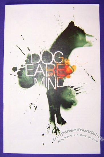 DOG EARED MIND mini-comic TIM HALL Eric Wilder 2008