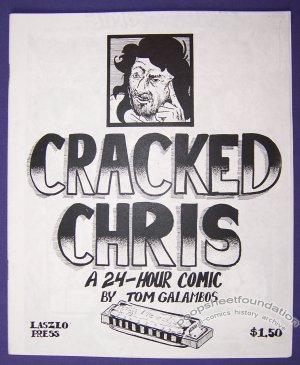 CRACKED CHRIS mini-comic TOM GALAMBOS 24-hour comic 1996
